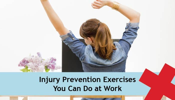 injury prevention exercises you can do at work