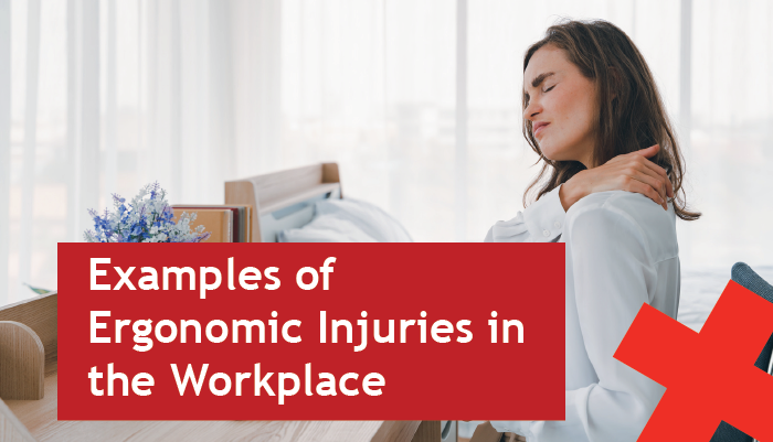 examples of ergonomic injuries in the workplace