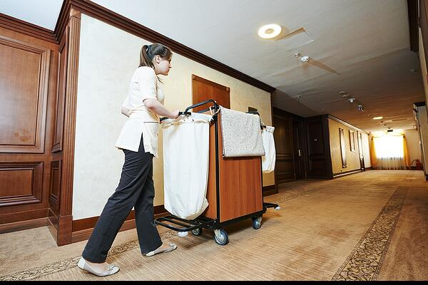 Hospitality Housekeeping Carts