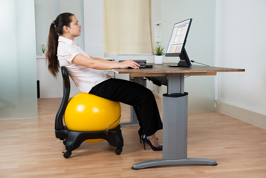 Should I Use An Exercise Ball As An Office Chair